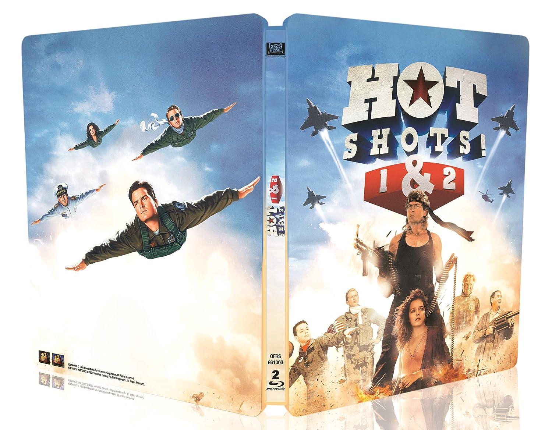 Hot Shots 1 2 Blu Ray Steelbook France Blu Ray Forum
