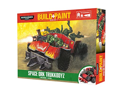Warhammer 40'000 - 00084 - Maquettes de Figurines - Space Ork Trukkboyz