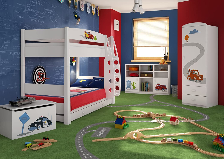 Schlafzimmer-Set Kindermöbel 'Cars' Jugendzimmer komplett Kinderzimmer bestellen