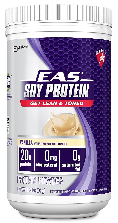 ! EAS Advantedge Soy Protein Drink Mix Powder, Chocolate or Vanilla, 1.4 lb