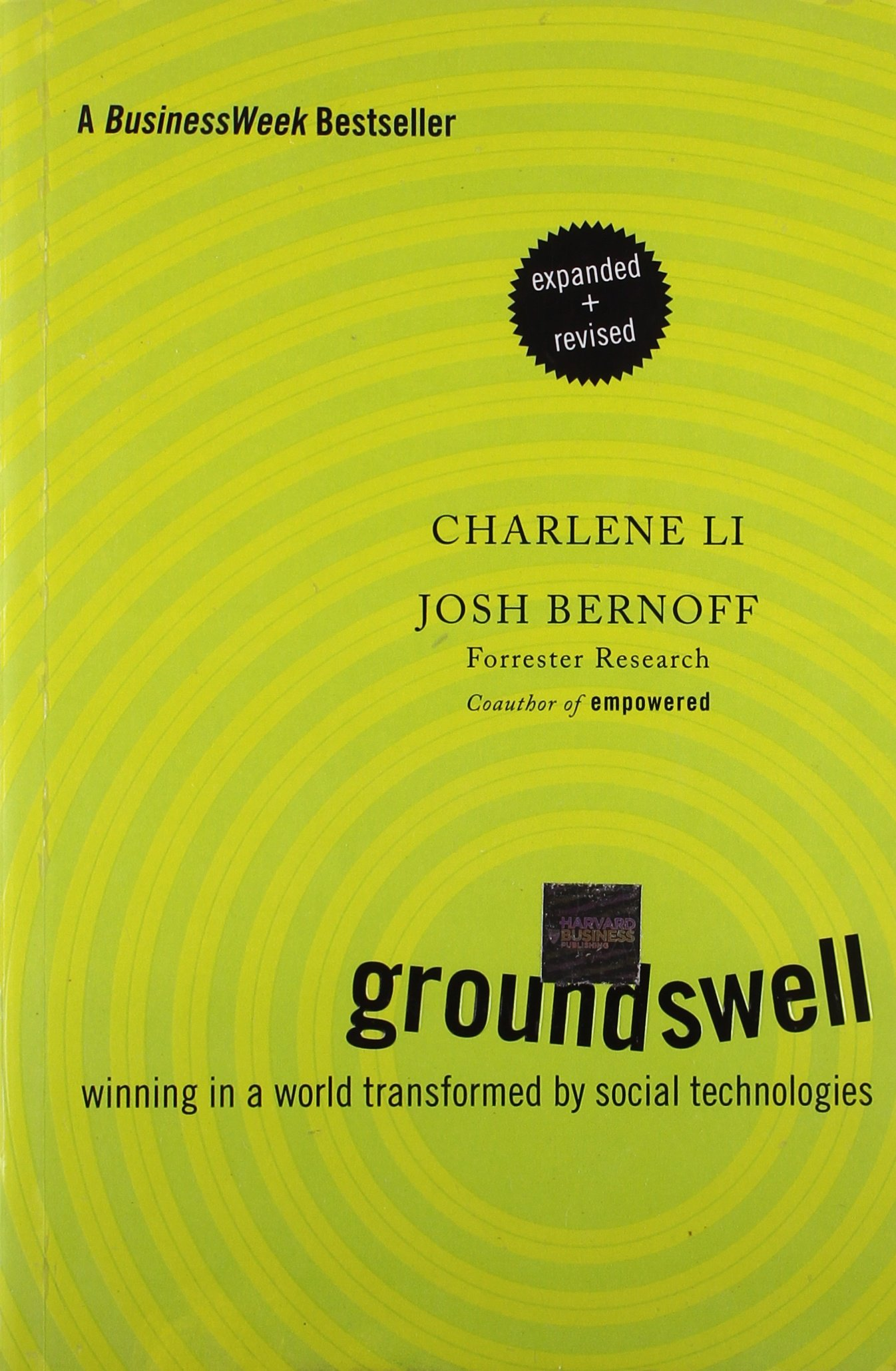 Groundswell ISBN-13 9781422161982