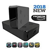 Hidden Spy Camera | 1080P HD Portable Wifi Security Cam with Night Vision, Live Remote Surveillance, AC/Battery Powered, Motion Activated Recording and Loop Recording. Wireless Black Box Hidden Camera