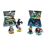Lego Dimensions Bundle of 2 - Excalibur Batman + Bionic Steed Fun Pack (71344) and DC Bane Fun Pack (71240)