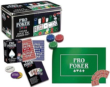 Poker - Propoker : Boîte Métal Tout En 1 , kit complet a partir de 12 ans