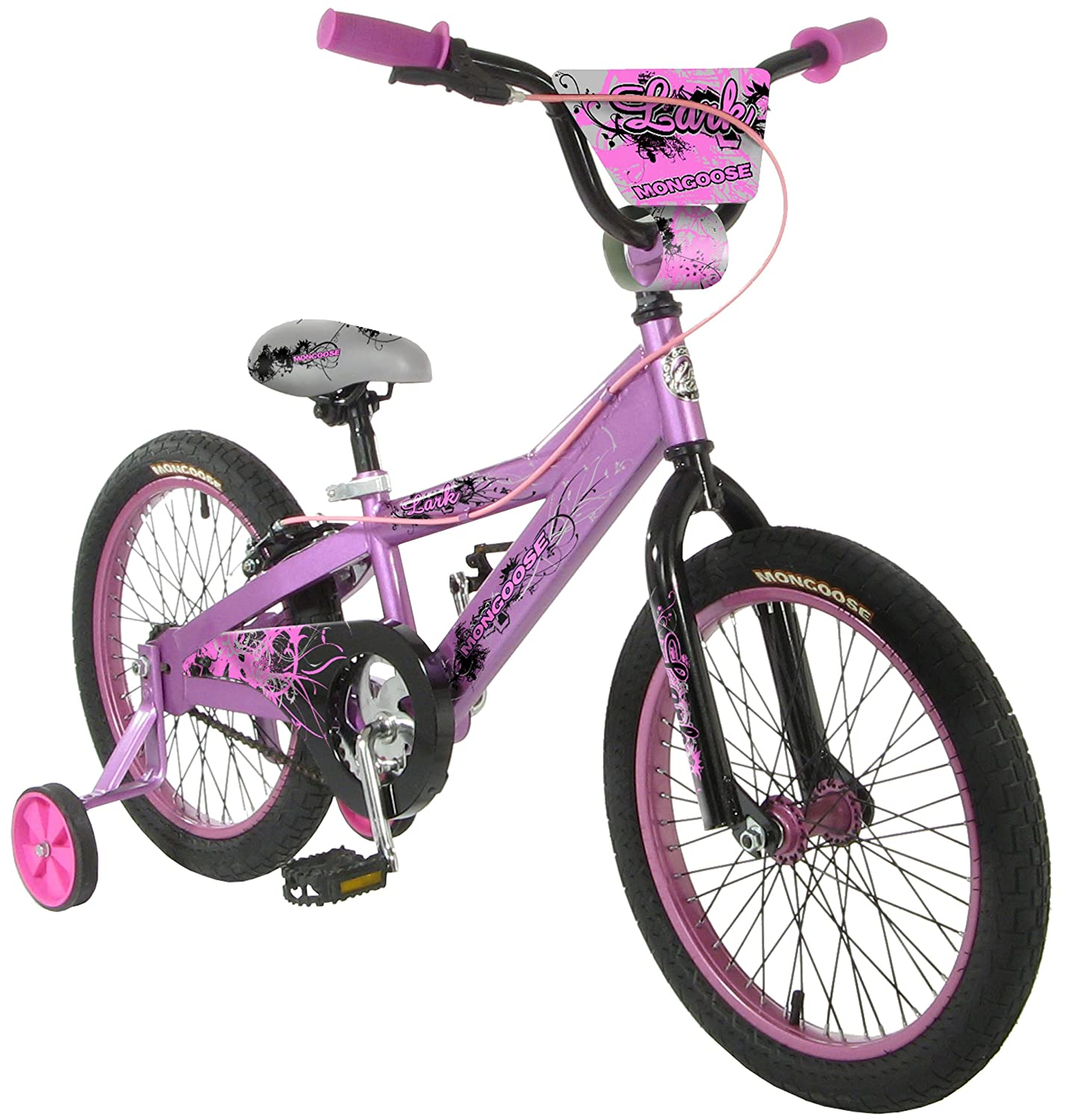 Discount Girls Bikes 16 Inch Mongoose Lark Girls Bike