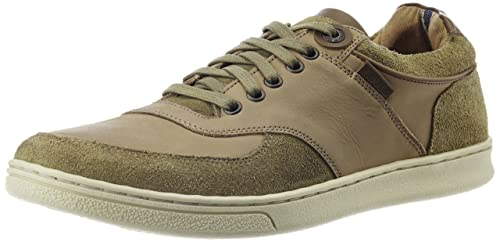 Light Brown Leather Sneakers on heavenlart