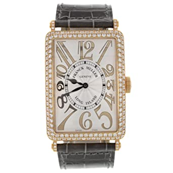 Franck Muller Geneve Long Island 18K Rose Gold Diamond Automatic Unisex Watch
