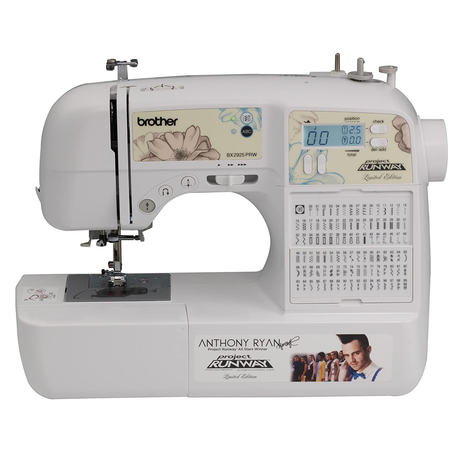 Brother BX2925PRW Limited Edition Project Runway Sewing Machine