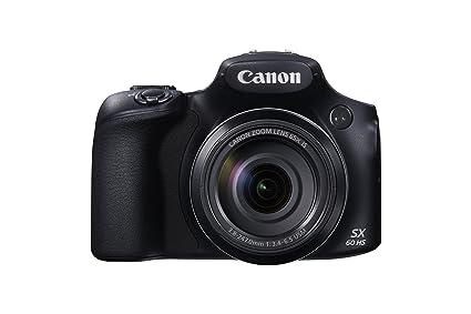 """Canon Powershot SX60 HS Appareil Photo Numérique Bridge 16,1 Mpix Écran LCD 3"""" Zoom optique 65x - Noir"""