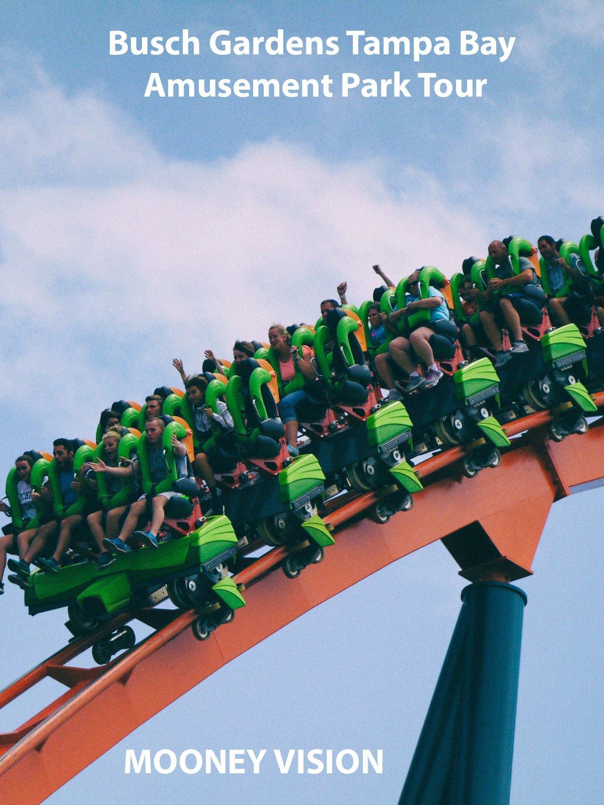 Busch Gardens Tampa Bay Amusement Park Tour