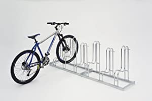 Fahrradständer  Standparker Modell 4054 mit 4 Einstellplätzen  einseitig  BaumarktÜberprüfung und Beschreibung