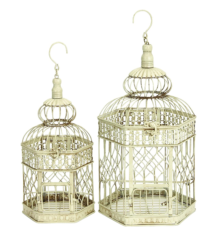 Decorative Bird Cages Centerpiece Ideas