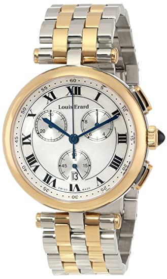 "Louis Erard Women's 12820AB04.BMA28 ""Romance"" Gold PVD-Coated Watch"