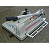 (TRADEMARKED) STACK S-12 Desktop Industrial Guillotine Heavy Duty Paper Cutter with extra cutting blade and cutting pad