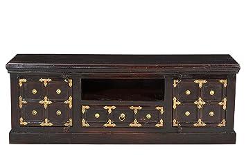 Sit-Möbel 7421-30 mueble de pared, acabado antiguo, madera VIEJA RECICLADA, 140 x 40 x 50 cm, marrón