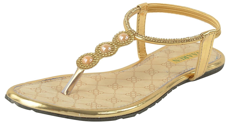 Womens sandals flipkart - Vaarun Women S Flat Sandal Golden Vl 48a Rs 199 00 33 Off Flipkart Coupons