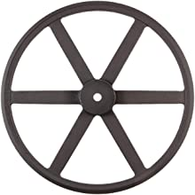 Martin P/B Plain Bore FHP Sheave, 3L/4L Belt Section, 1 Groove, Class 30 Gray Cast Iron