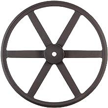 Martin P/B Plain Bore FHP Sheave, 3L/4L Belt Section, 1 Groove, Class 30 Gray Cast Iron