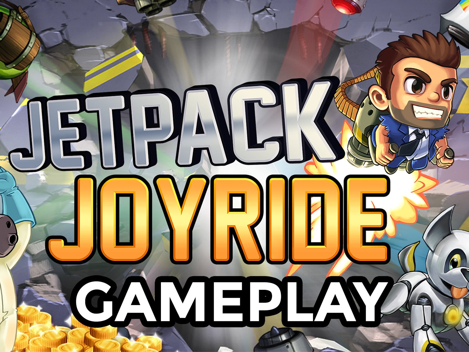 Clip: Jetpack Joyride Gameplay - Season 1