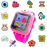 iCore Game Watch, Kids Smartwatch, Electronic Watch with Video Games,Wearable Learning Timer Alarm Clock Watch with Camera for Kids