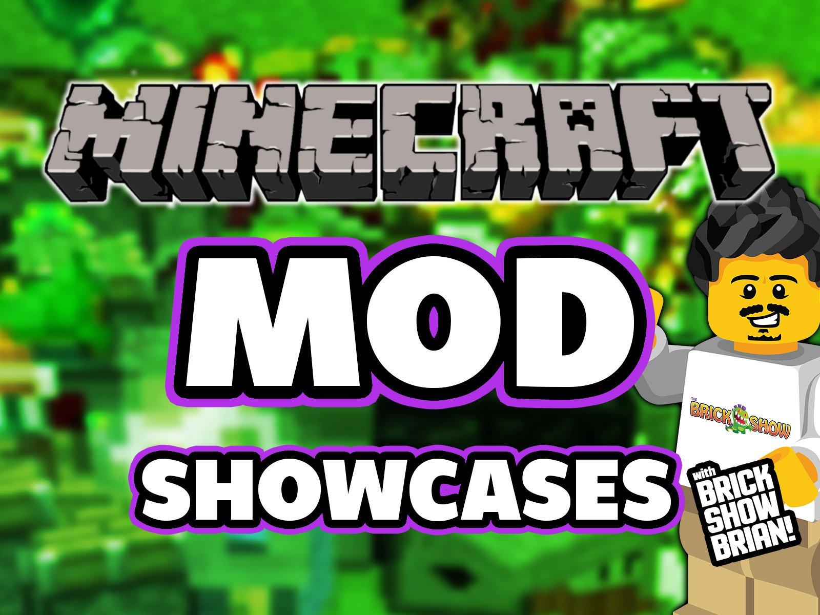 Clip: Minecraft Mod Showcase with Brick Show Brian - Season 1