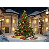 Kate 10x6.5ft Christmas Photography Backgrounds Winter Snowflake Backdrops for Photo Studio Lighting Castle Photobooth (10x6.5ft) (Color: 4731, Tamaño: 10x6.5ft)