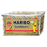 Haribo Goldbears Original Flavor, 22.8 oz. Tub containing 54 - .4 oz. Bags (Color: Original Flavor, Tamaño: 54 count Tub)