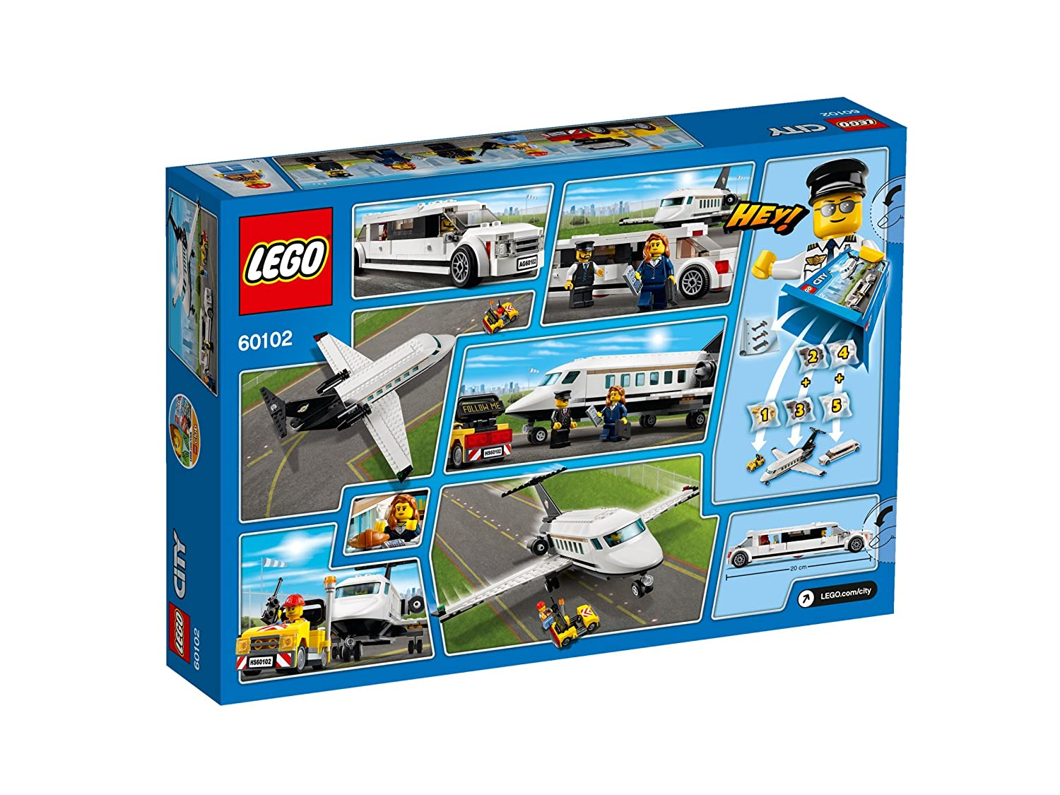 PreOrder Lego City Private Jet And Limousine 60102  EBay