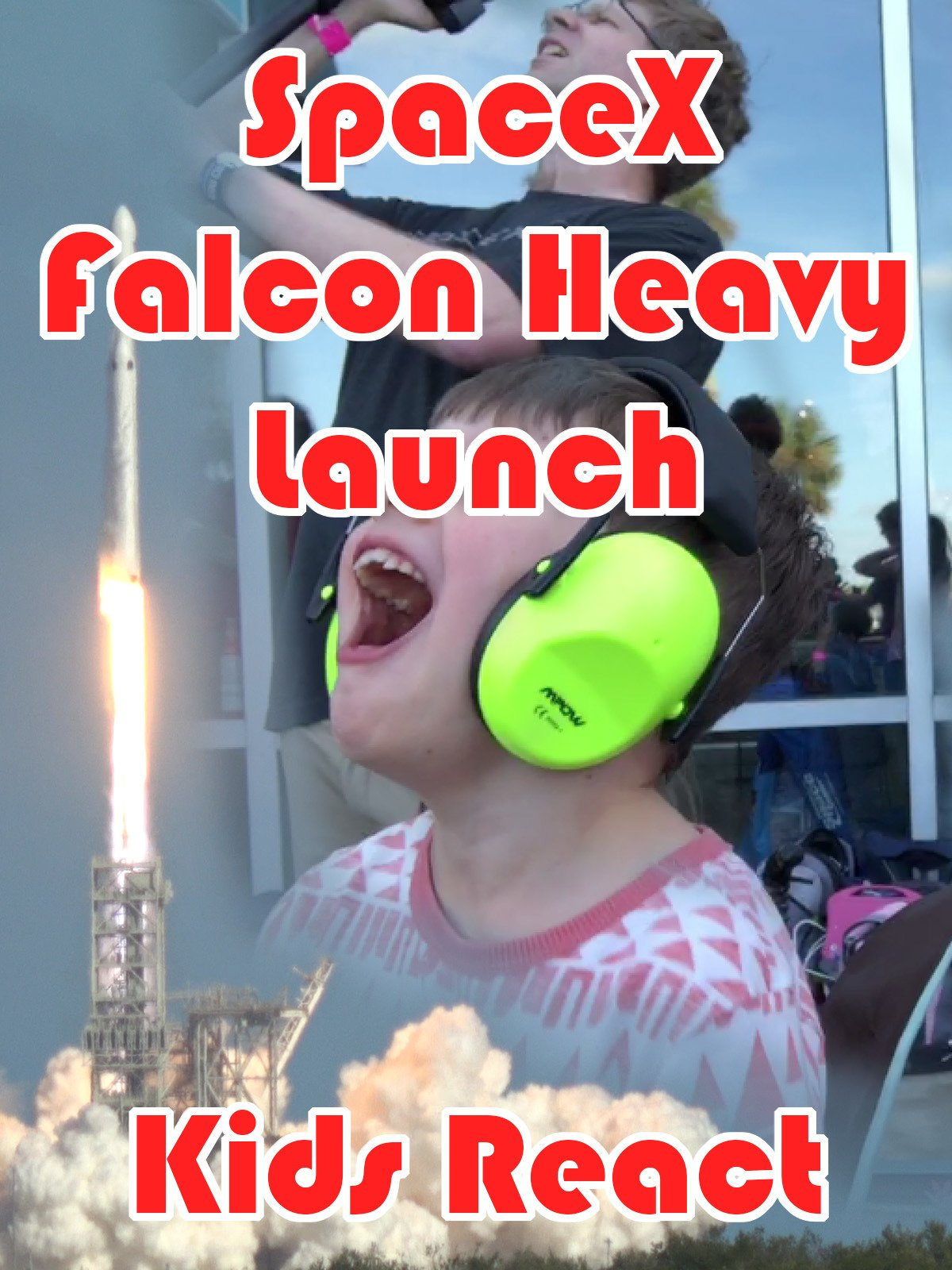 Clip: SpaceX Falcon Heavy Launch