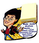 Home Blendz Shahrukh Fridge Magnet with Note pad