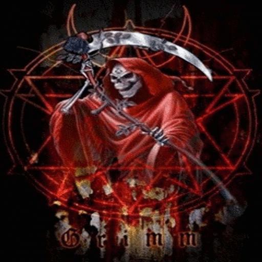 Red Grim Reaper