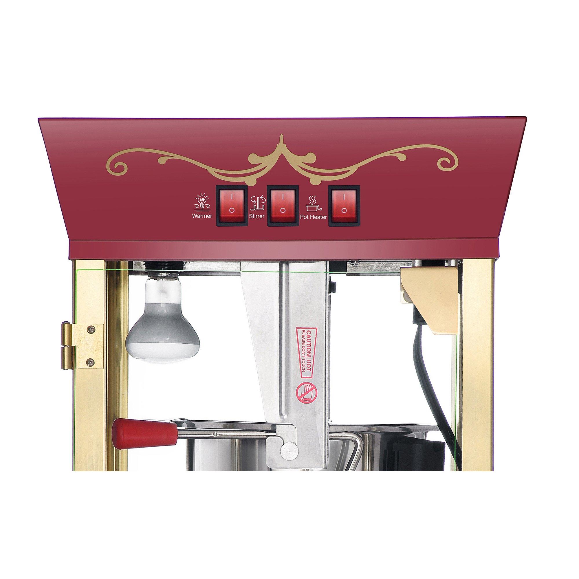popcorn machine theater style