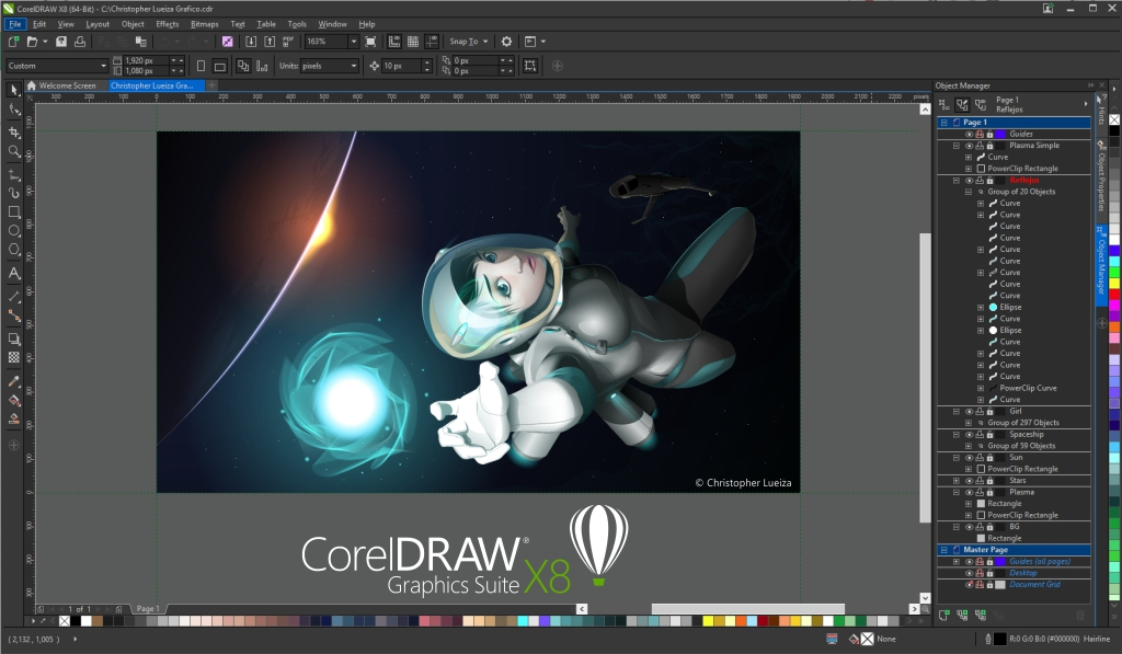 Corel Draw Home And Student X Buch