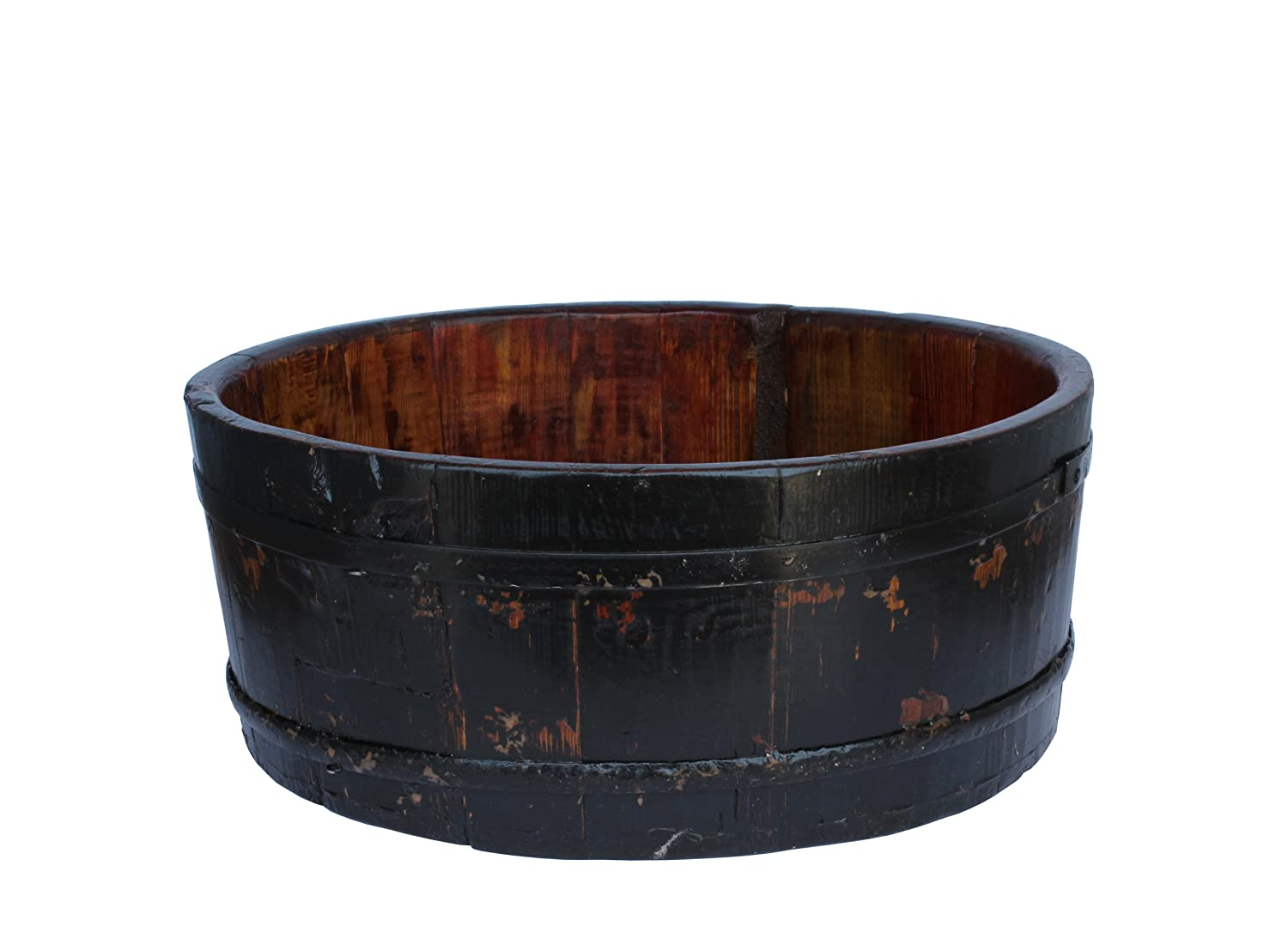 Wooden Basin Bucket