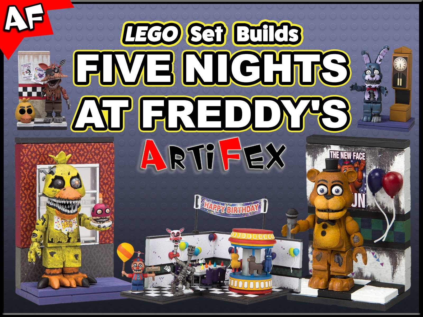 Clip: Lego Set Builds Five Nights at Freddy's - Season 1