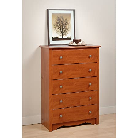Prepac Monterey Cherry 5-Drawer Chest