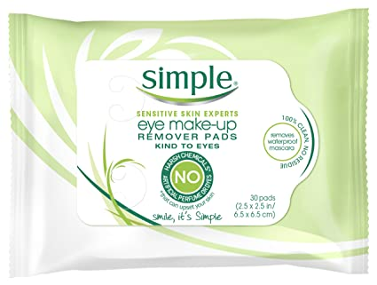 Simple Makeup Remover Simple Eye Makeup Remover Pads