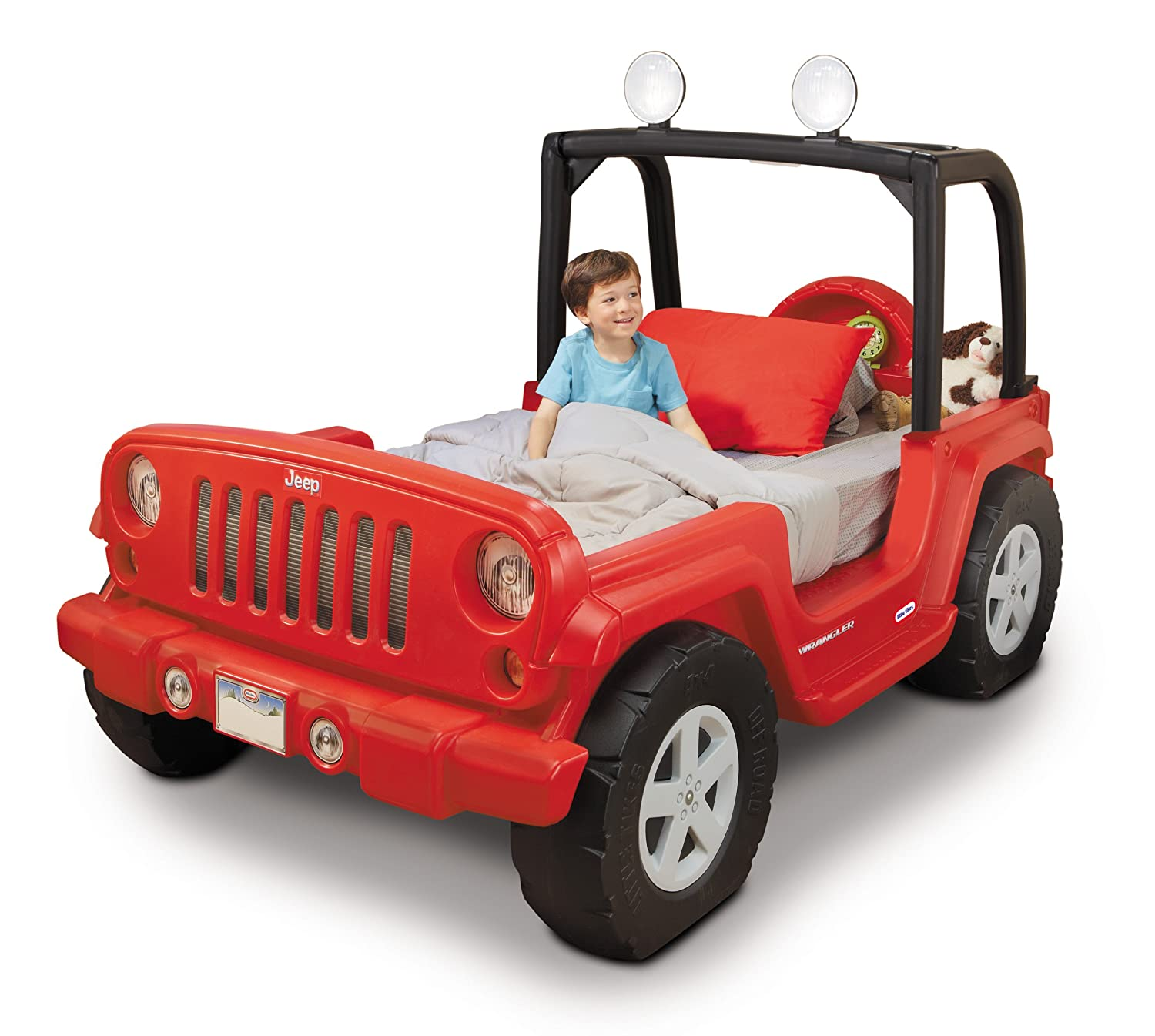 An Image of Little Tikes Jeep Wrangler Toddler To Twin Bed