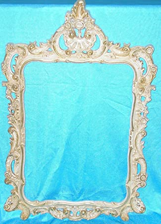 FRAME FOR SQUARE MIRROR MIRROR IVORY AND GOLD