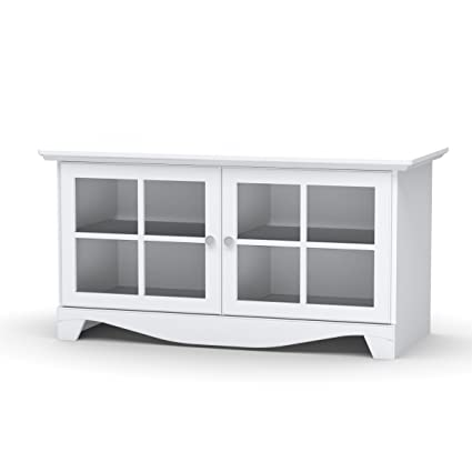 Nexera 100403 Pinnacle 49-Inch TV Stand, White