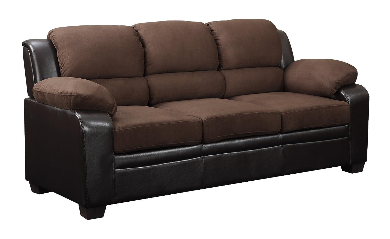 Global Furniture Upholstered Sofa - Brown