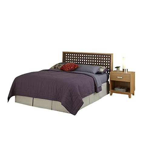 Home Styles 5517-5015 The Rave Full/Queen Headboard and Night Stand Set