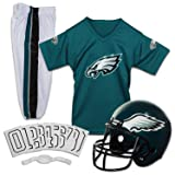 Franklin Sports NFL Philadelphia Eagles Deluxe Youth Uniform Set, Medium