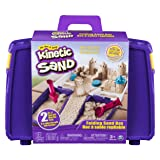 The One and Only Kinetic Sand, Folding Sand Box with 2lbs of Kinetic Sand (Color: Multicolor, Tamaño: n.a.)
