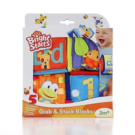 Bright Starts Grab and Stack Blocks