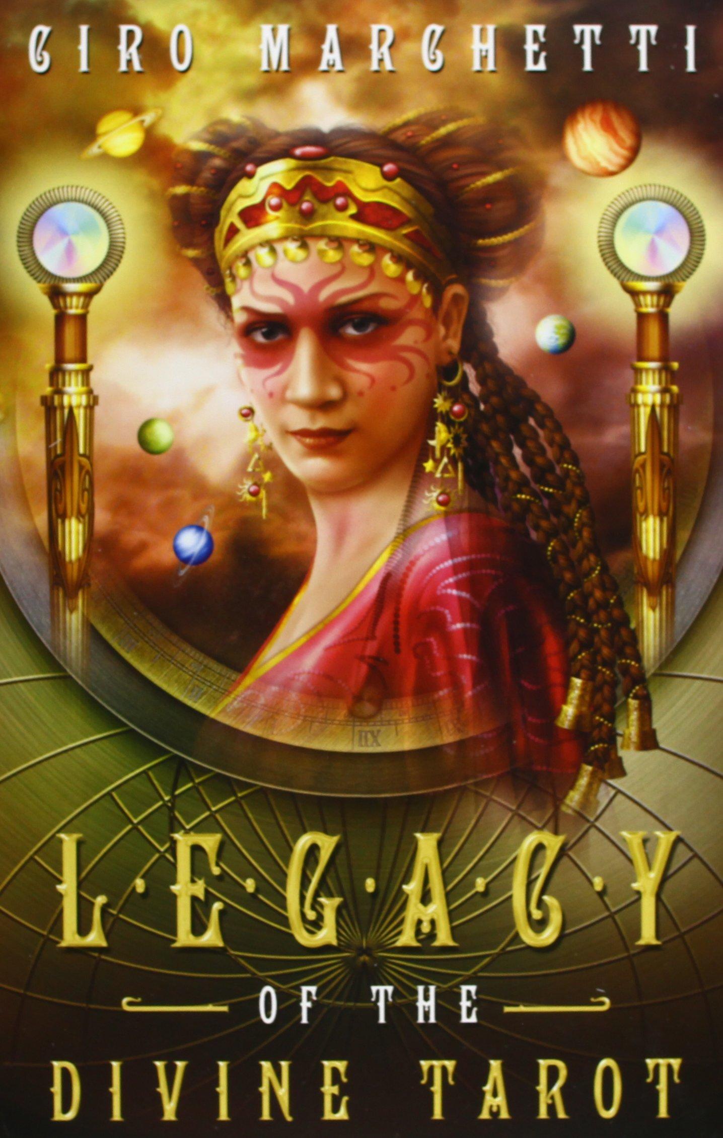 Ezoterycznie: Legacy Of The Divine Tarot- Recenzja