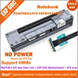 Andrew_Store EXP GDC Jimi_Store Beast v8.0 Laptop External PCI-E Graphics Card with NGFF AKEY