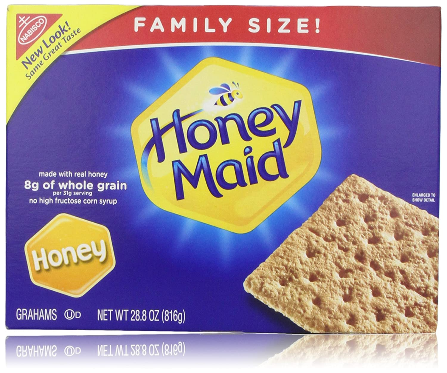 Honey Maid Grahams, Honey, 28.8 Oz