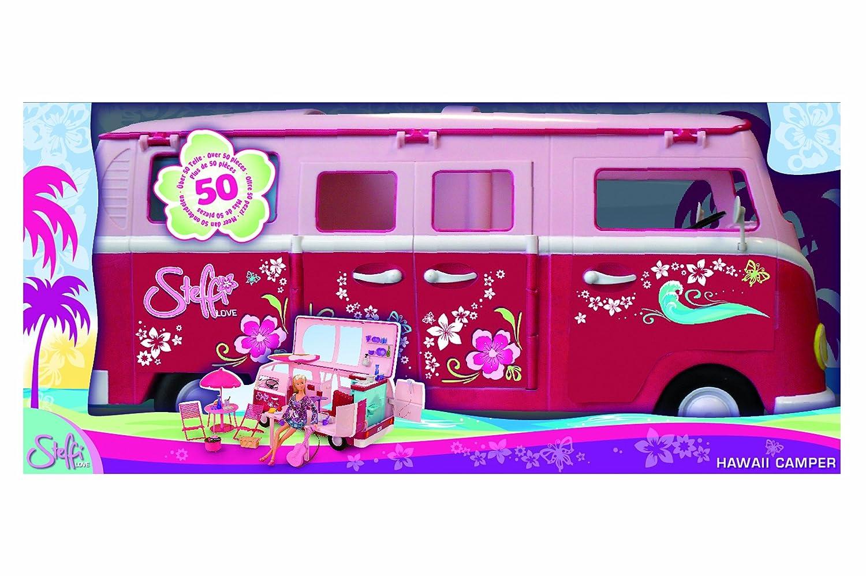 Simba 105739423 – Steffi Love Hawaii Camper als Weihnachtsgeschenk