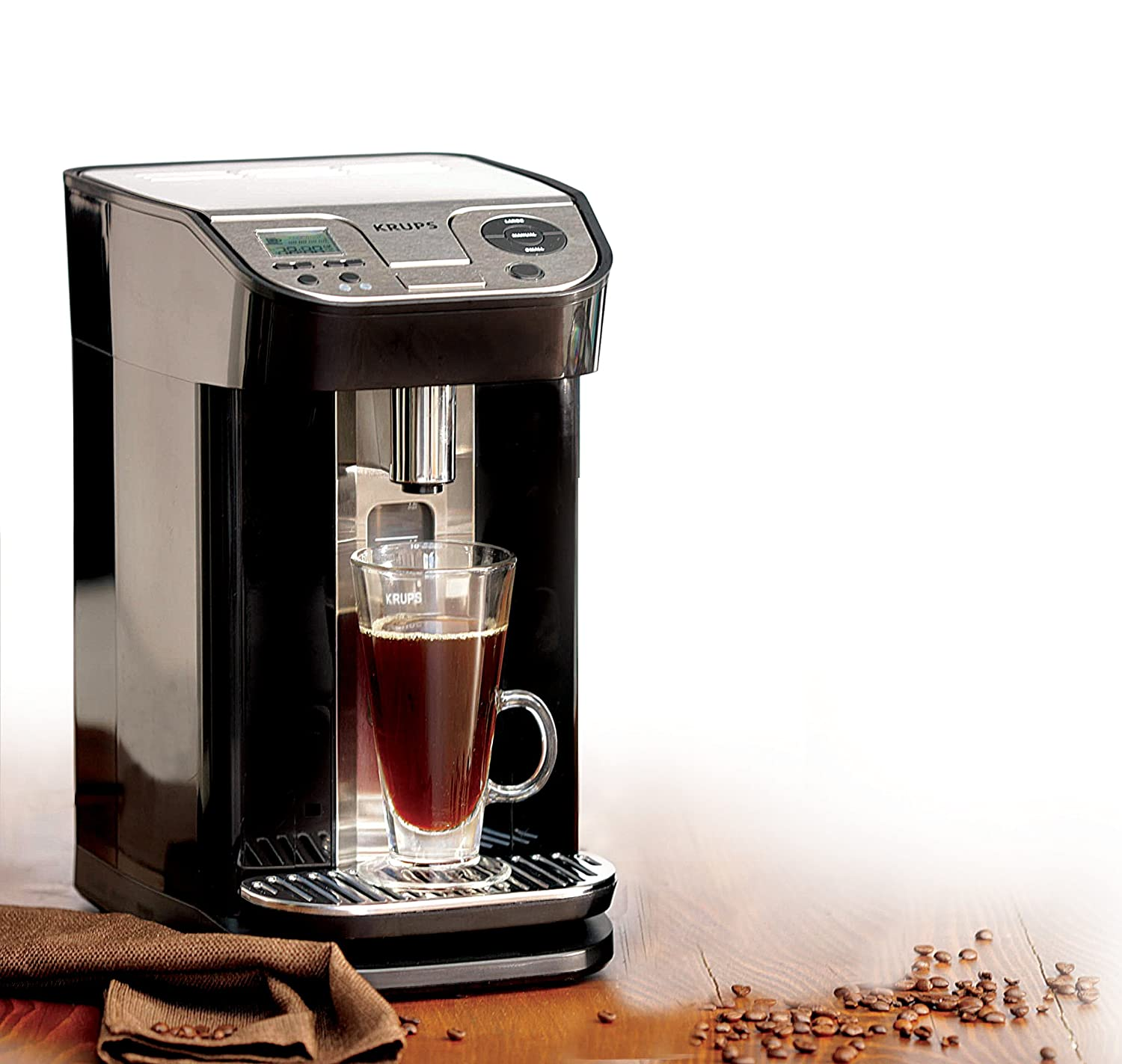 KRUPS KM9008 Cup on Request Programmable 12-Cup Coffee Maker